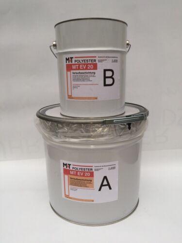 Bodenbeschichtung 2K Dickschicht Epoxidharz Verlaufbeschichtung Nr.1500 RAL 7032