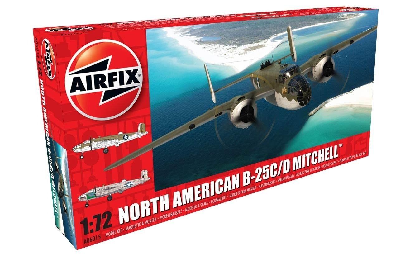 Airfix 1 72 B-25C D Mitchell - New Tooling A06015