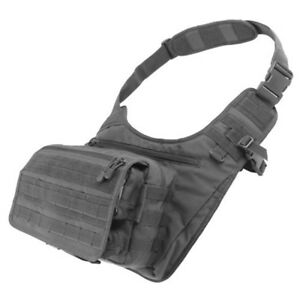 Condor Molle Modular Conceal Carry Messenger Shoulder Bag 146 Black