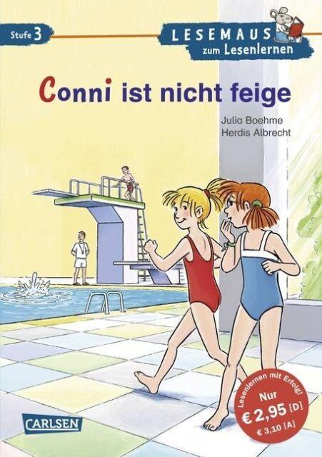 LESEMAUS zum Lesenlernen Stufe 3, Band 507: Conni ist nicht feige - Albr ... /5
