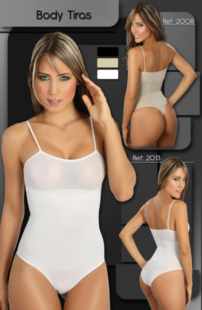 FAJA SPAGETTI TOP BODY SUIT SHAPER / REDUCER