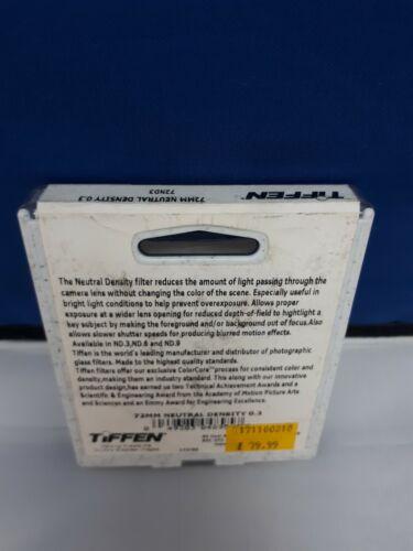Tiffen 72mm Neutral Density 03 Filter