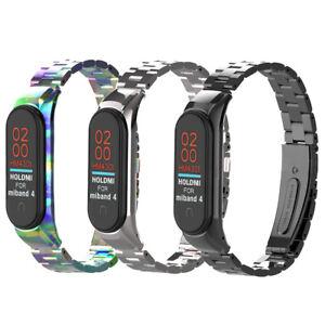 2019-Metal-Wrist-Bracelet-Stainless-Steel-Watch-Band-Strap-For-Xiaomi-Mi-Band-4