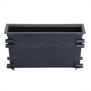 Black-Car-Radio-Stereo-Dash-Pocket-Storage-Box-Drawer-Universal-18x5x9-8cm
