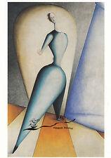 Tarjeta de arte: Oskar Schlemmer-la bailarina/el gesto