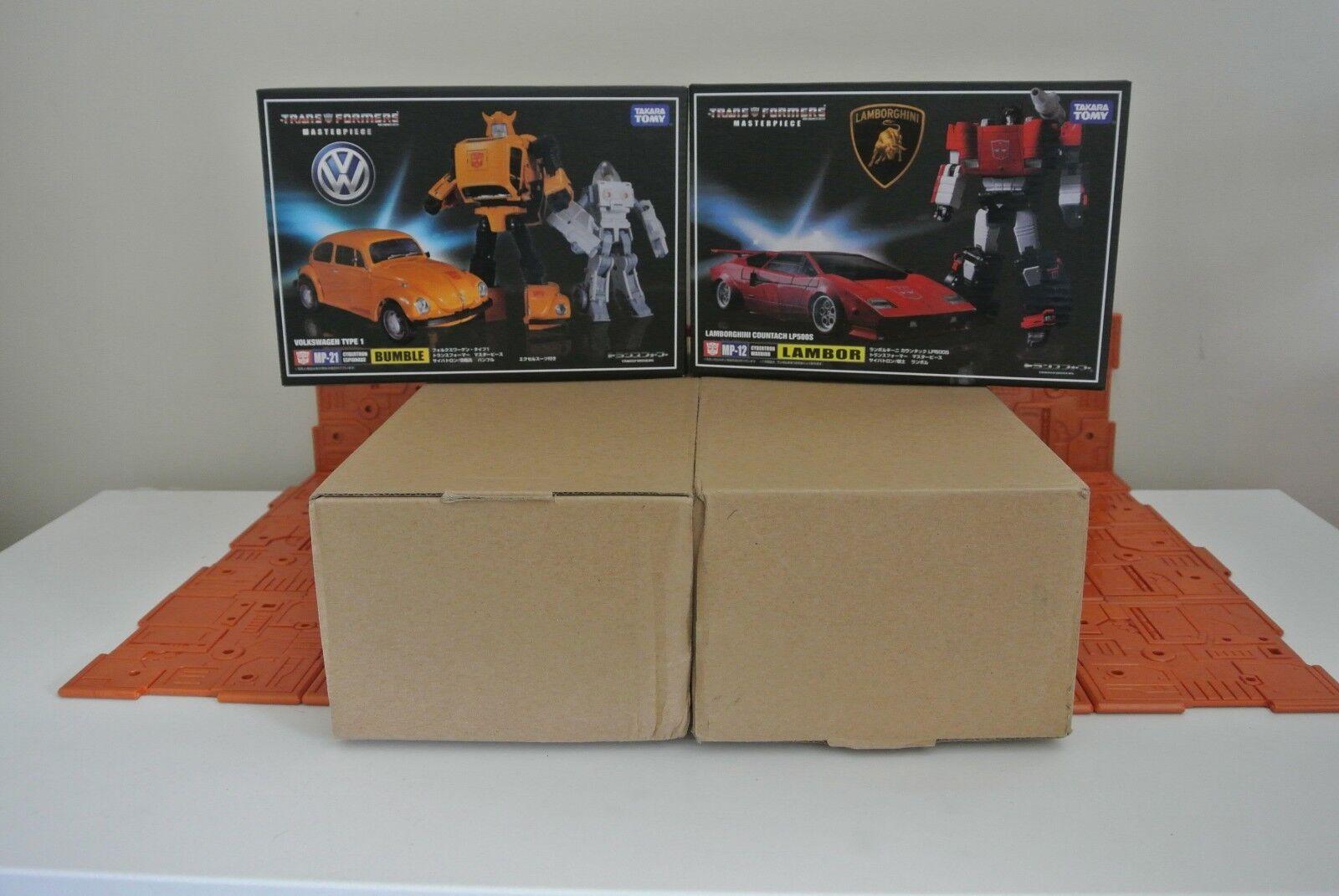 mejor precio Transformers Masterpiece de Takara Mp10 Optimus Prime, MP12 & & & MP21 Paquete  gran selección y entrega rápida
