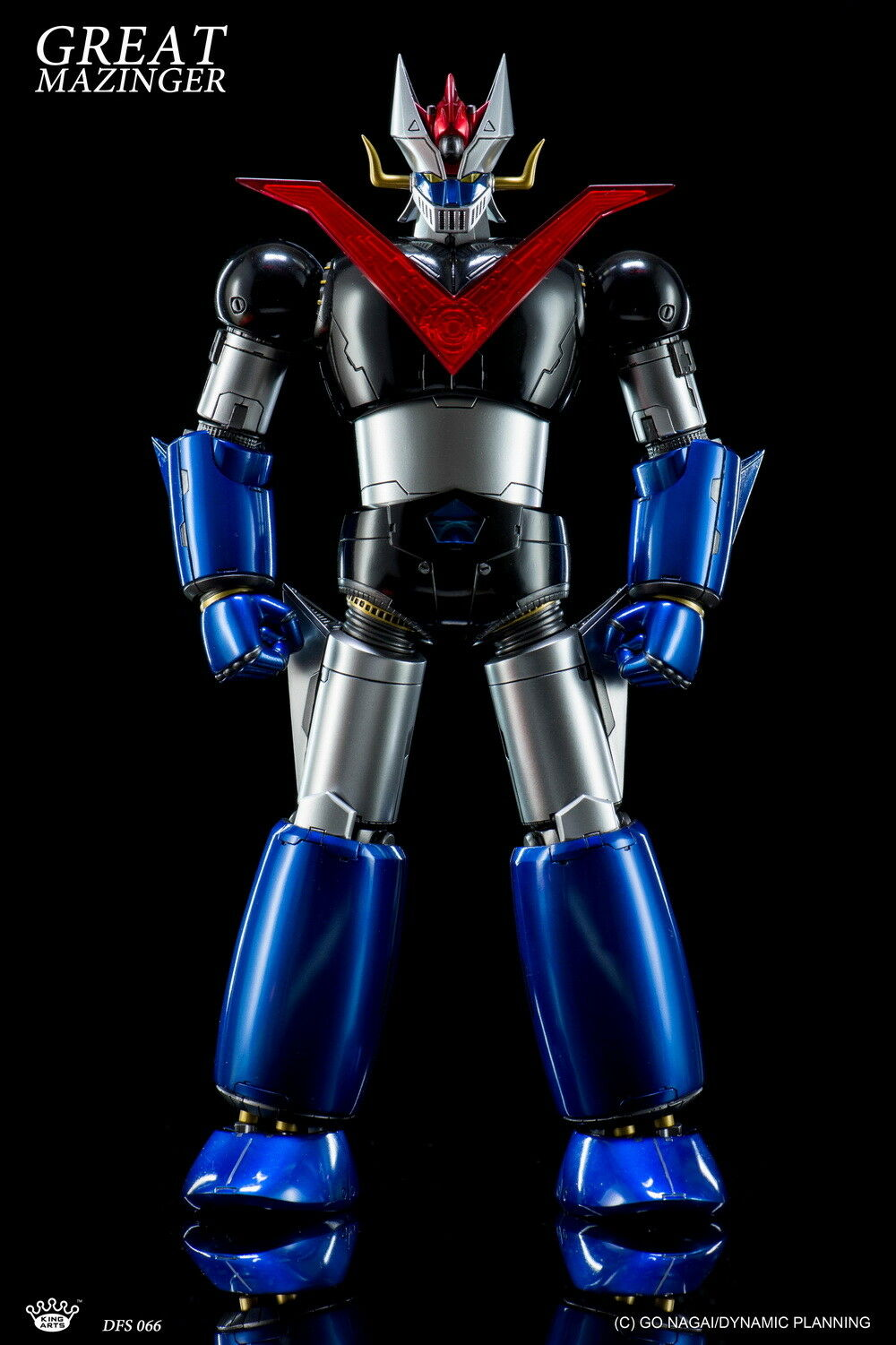 King Arts 1 9th Diecast DFS066 Great Mazinger Z No.2 Collectible Figure