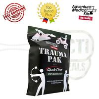 Adventure Medical Kit Trauma Pak W/quick Clot Stops Bleeding First Aid 2064-0292
