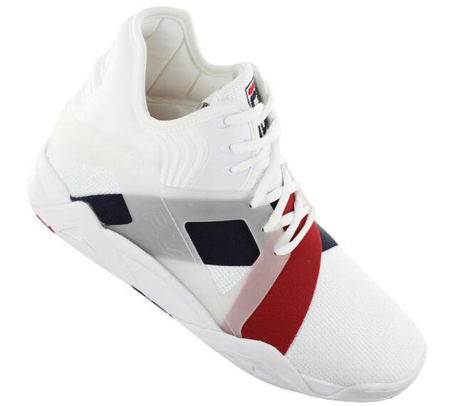 FILA The Cage 17 Men Shoes White Navy Red OG Basketball Vtg 1bm00026 11