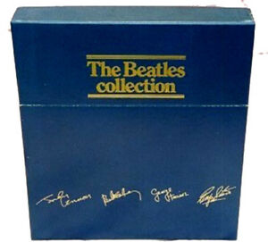 Details about The Beatles Collection (British Blue Box), Vinyl Albums,  Brand New, Never Played