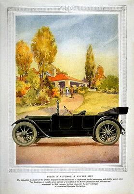 Auto Garage VINTAGE Transport ADVERTISING ART PRINT FREE UK P/&P