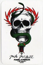 Powell Peralta Skateboard Sticker Bones Mike McGill Reissue skate snow surf