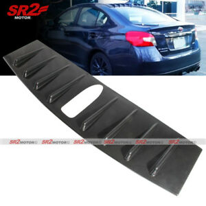 Vortex Generator Shark Fin Carbon Style Roof Spoiler Wing Fits 15 16 Wrx Sti Ebay