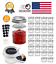 30-Pack-Mason-Jars-4Oz-Small-Canning-Lids-Bands-Mini-Wide-Mouth-For-Jam-Baby-Hon thumbnail 1