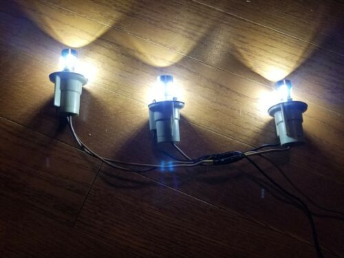 Front /& Rear Blinding Bright LED light bulbs Deere 318 322 332; AD2062R AR48015