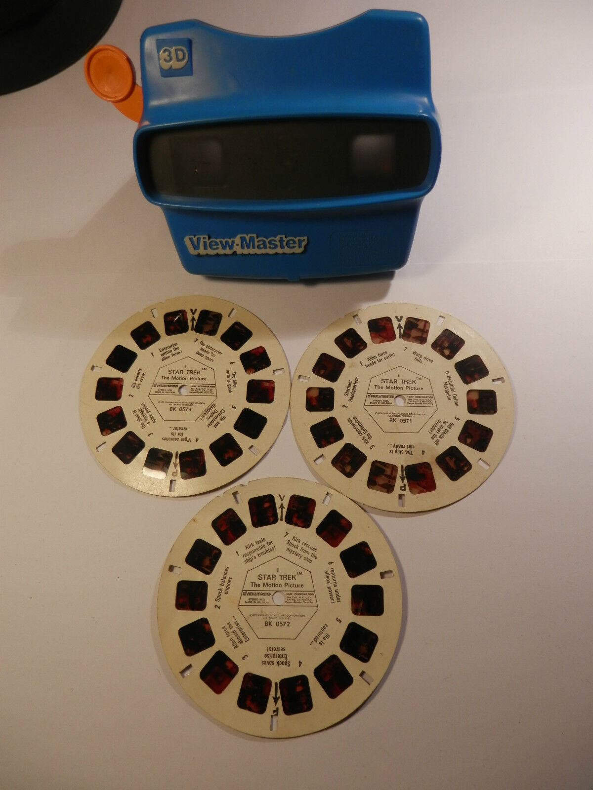 en promociones de estadios RARE SET OF 3 Estrella Estrella Estrella Trek The Motion Picture with Viewmaster BK0572 BK0571 BK0573  ahorra 50% -75% de descuento