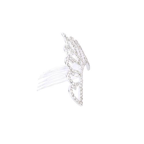 Beautiful Kid Rhinestone Crystal Tiara Crown Flower Girl Hair Comb Wedding Party