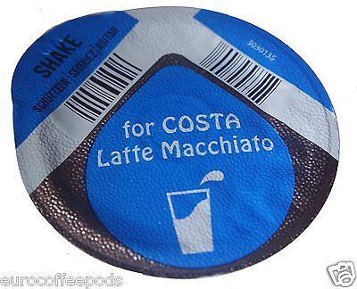 20 x Tassimo Costa Latte / Costa Latte Macchiato Milk only Creamer T-disc
