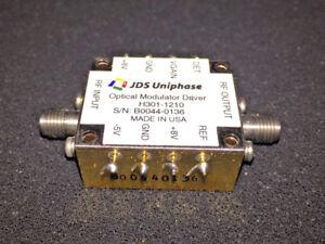 JDSU H301 10GBS OPTICAL MODULATOR DRIVER FOR WINDOWS 8