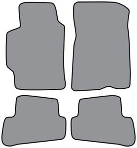 1993-1997-Ford-Probe-Cutpile-Carpet-Logo-Floor-Mat-4pc