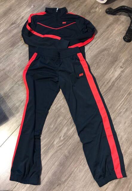Survetement Nike pour fille Bleu Marine et Rose Taille 12 - 13 ans   survet   c24c36d6cbd