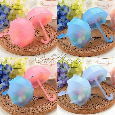 12/24pcs Umbrella Candy Box Baby Shower Wedding Party Baby Christmas Favors Gift