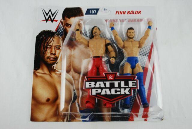 WWE Mattel Shinsuke Nakamura//Finn Balor Battle Packs 57 Basic Figures