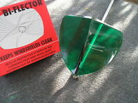 Accessory Vintage Style Green Windshield Bug Deflector 86