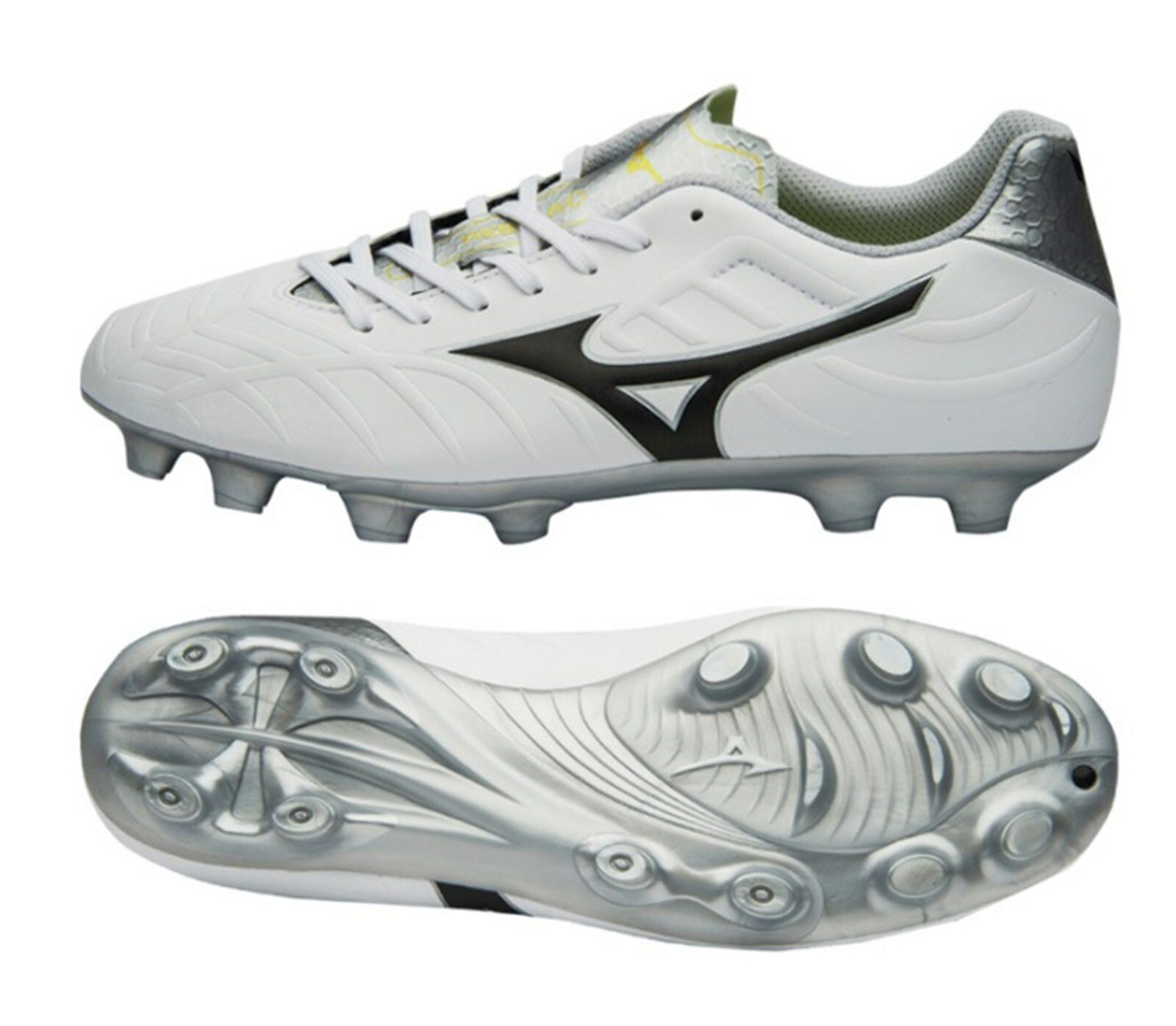 Mizuno Men Rebula V3 MD Cleats Soccer Football Spike Weiß Schuhes Stiefel Spike Football P1GA188509 89fafd