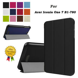 Fashion-Tri-Fold-Slim-Leather-Case-Cover-For-Acer-Iconia-One-7-B1-780-Tablet