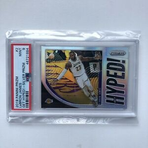 2019-20-Panini-Prizm-Silver-Get-Hyped-LeBron-James-Los-Angeles-Lakers-PSA-9-MINT