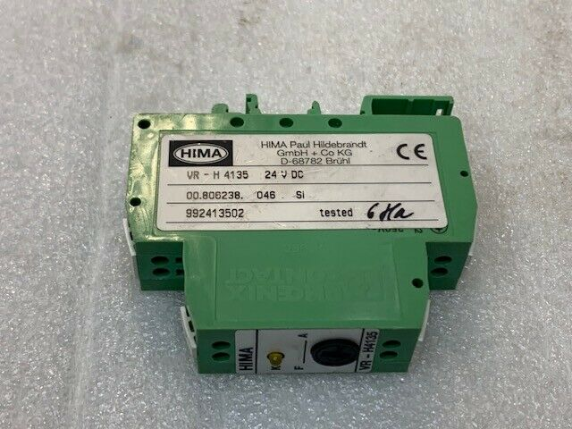 Used Hima Vr H4135 Safety Relay H4135 Relays Safety Relays Business Industrial