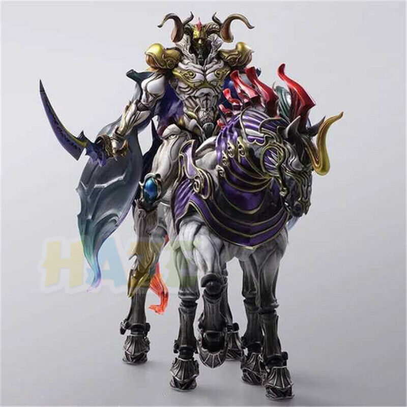 Final Fantasy XIII 13 Play Arts Kai battle God Odin Statue Action Figure Toys