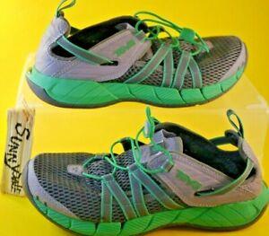 51236f298c53 Teva Churn EVO Water Shoes Womens 1000220 Gray Teal Sport Sandals ...