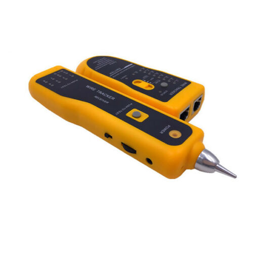 Network Cable Tester Hunt Wire Sort USB Cable Coaxial Cat-5e 6 RJ45 RJ11 LAN