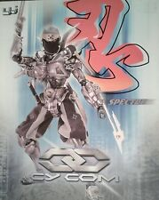 CY COM SPECTRE cyborg day ninja BBI  TAKARA BLUE BOX TOYS  NIB