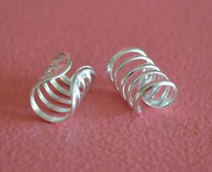 925-Sterling-Silver-Plain-Wire-Ear-Cuffs-Earrings-Wire-Wrap-Ear-Cuffs-Earrings