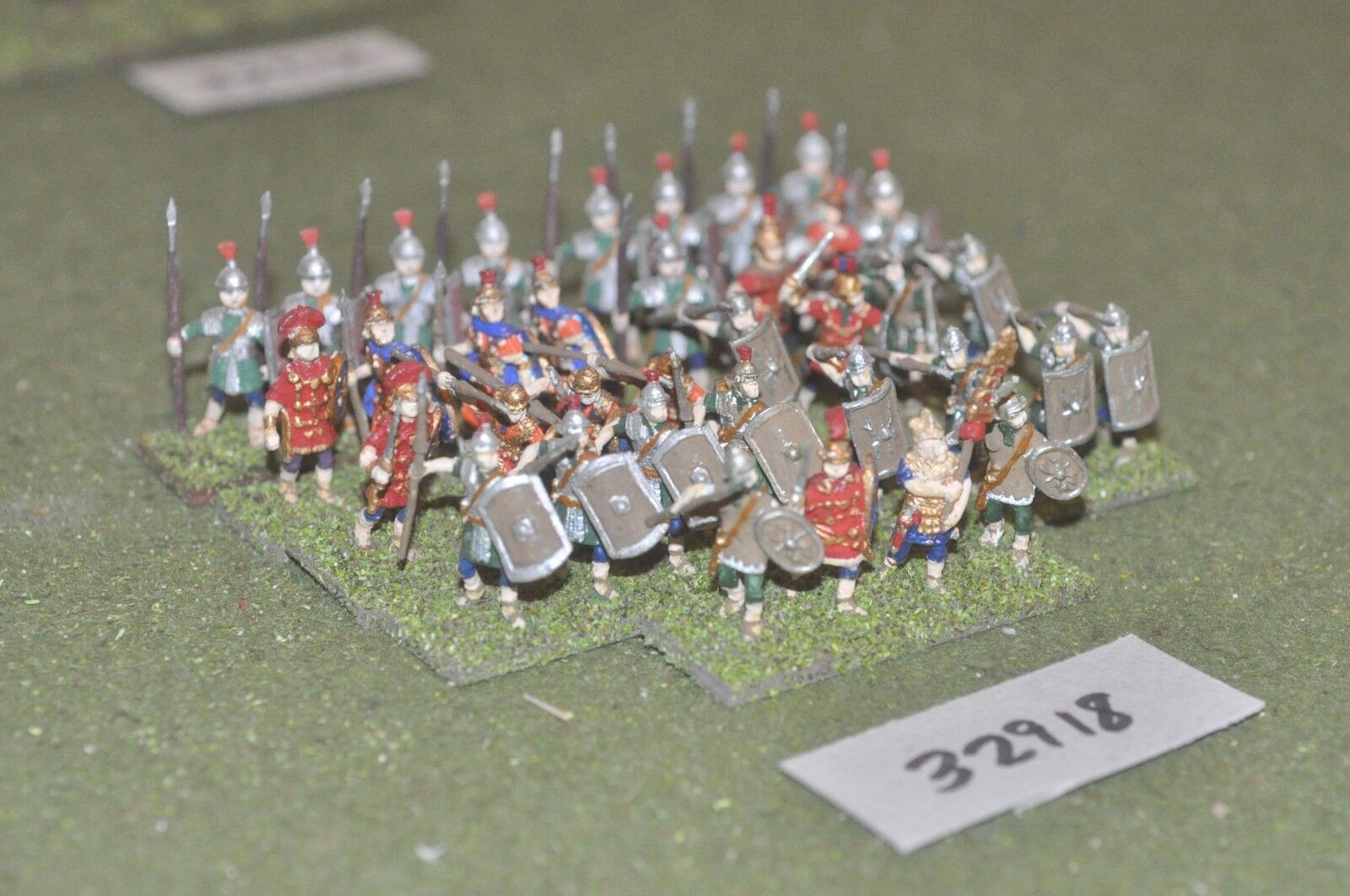 25mm roman era   roman - battle group 36 figures - inf (32918)