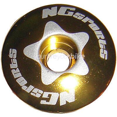 """NG SPORTS A-HEAD STEUERSATZ ABDECKKAPPE 1 1//8/"""" KAPPE HEADSET TOP CAP 28,6mm ROT"""