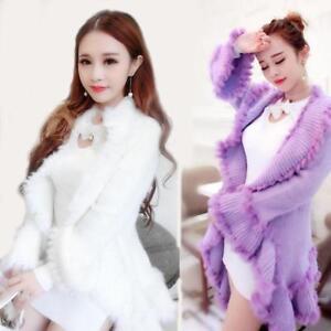 douces tricot mince chandail veste lâche pour manteau couleurs en 3 Mode long femmes cardigan O4Eqxqwa