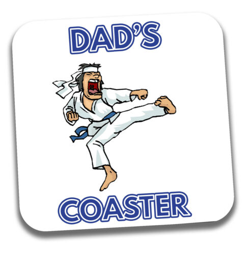 Gift Karate Martial Themed For Dad Father/'s Day or Birthday Card