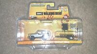 Greenlight Michonnes Jeep Wrangler And Trailer Walking Dead 1-64 Scale