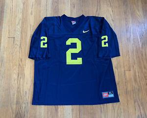 Michigan-Wolverines-Vintage-90-s-Charles-Woodson-Nike-Jersey-Mens-XL-EUC-RARE