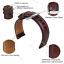 Quick-Release-Genuine-Leathe-Strap-For-Fossil-Q-Gen-4-Venture-HR-Smartwatch-Band thumbnail 32