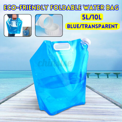 5L Folding Water Bag Outdoor Sports Camping Travel Collapsible Storage Tool
