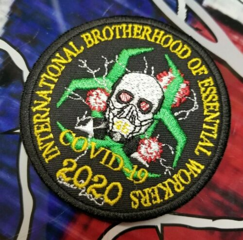 International Brotherhood of Essential Workers patch Collectibles ...
