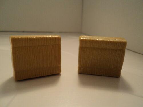 PLAYMOBIL lot de 2 petits ballots de foin carrés 3x2x1cm pour animaux ferme