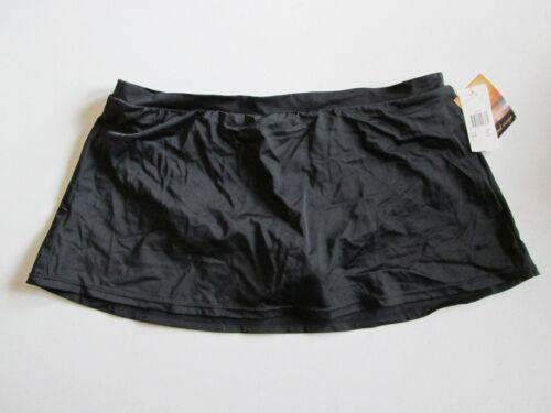 NWT Size 14 Macy/'s Island Escape Skirtini Womens Swim Bottoms Black