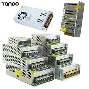 LED Strip Light Switch Power Supply Driver Adapter AC110V-220V TO DC 5V 12V 24V