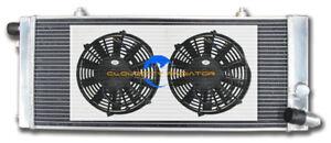 All aluminum radiator for 1984-1994 PEUGEOT 205 GTI 1.6L 1.9L MT +Fans 1985 1991